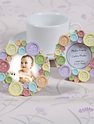 Place Cards and Holders Colorful Button Place Card/Photo Frames