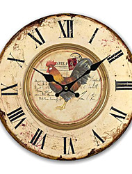 Country Animal Wall Clock