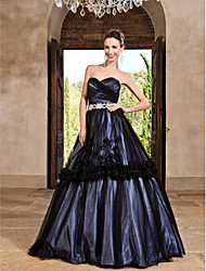 Prom/Formal Evening/Quinceanera/Sweet 16 Dress - Regency Plus Sizes Princess/A-line/Ball Gown Sweetheart/Strapless Floor-length Tulle