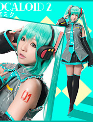 Vocaloid Formula VER. Miku Cosplay Outfit