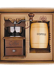 Coffee Series Boxed Gift (Moka & Siphon Pot, Grinder, Cups)T-202