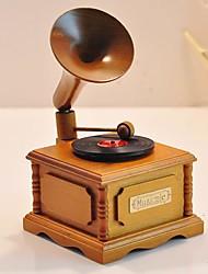klassische Schallplatte Design music box