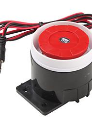 120dB Громкая сирена охранной сигнализации Роге спикера Buzzer (Black & Red, 6 ~ 16V)