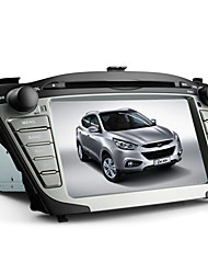 "7"" 2 Din TFT Screen Car DVD Player For Hyundai IX35 With Bluetooth, GPS,iPod-Input,RDS"