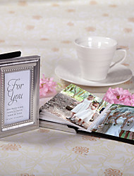 Garden Theme Chrome Photo Albums Silver