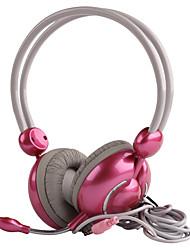 Fones de ouvido coloridos da moda FE-9109