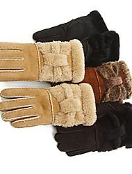 Wrist Length Fingertips Glove - Leather Winter Gloves/Party/ Evening Gloves