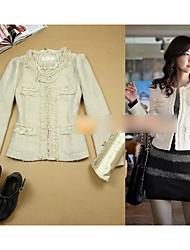 jaqueta de moda feminina de tweed