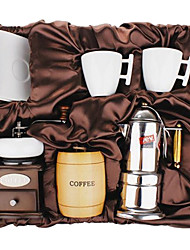Coffee Series Boxed Gift (Moka & Siphon Pot, Grinder, Cups)T-009