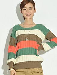 Women's Stripes Loose Sweater