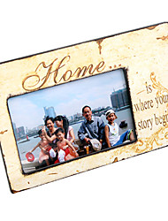 "6"" Home Theme Picture Frame"