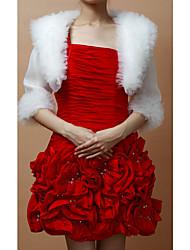 Wedding / Party/Evening Tulle / Organza Coats/Jackets 3/4-Length Sleeve