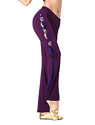 Dancewear Crystal Cotton With Lace Dance Pant for Ladies More Colors