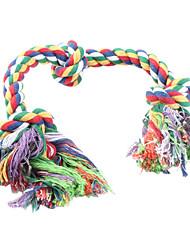 Flossy хлопок Chews 3-узел веревки для собак