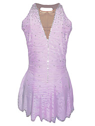 Girl Skating Suits Dress (Purple)