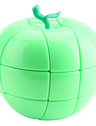 YJ 3x3 Apple Puzzle Cube (Green)