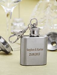 Gift Groomsman Personalized Stainless Steel 1-oz Flask