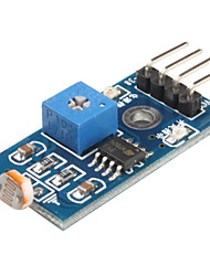 6495 Fotowiderstand Light Sensor Module für Smart Car (Black & Blue)