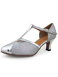 Women's Leatherette / Sparkling Glitter Modern / Ballroom Dance Shoes (More Colors)