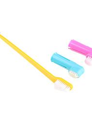 Ajuda para Treino Escovas Plástico Amarelo
