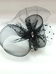 Women's Tulle Headpiece-Wedding Special Occasion Birdcage Veils
