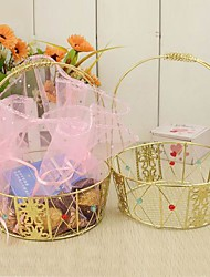 2 Piece/Set Favor Holder - Basket Organza/Metal Favor Boxes Non-personalised