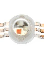 3w rgb émetteur de lumière 350ma (5-pack)
