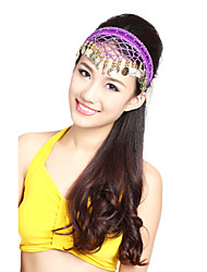 Performance Dancewear Alloy Headpiece with Coins for Ladies More Colors
