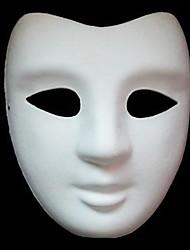 DIY V типа белого ПВХ Party Mask