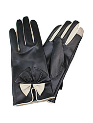 Wrist Length Fingertips Glove - Leather General Purposes & Work Gloves/Winter Gloves/Party/ Evening Gloves