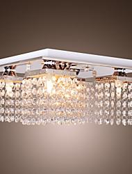 luz de cristal del techo modernas 5 luces