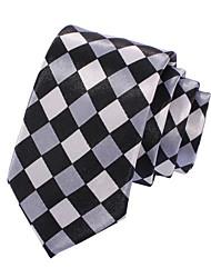 Men's Casual Check Narrow Necktie(Width:5CM)
