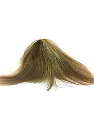 mão-amarrado 100% cabelo humano bate partes do cabelo