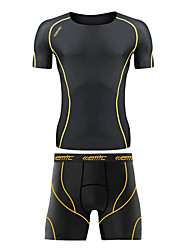 Running Tops / Bottoms / Clothing Sets/Suits / Compression Clothing / Underwear / Shorts Men's Breathable / Compression Spandex