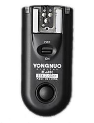 Yongnuo RF-603 N1 Gatilho flash 2.4GHz para Nikon D1 D2 D3 D200 D300 D700