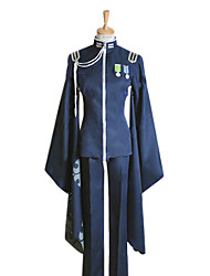 Inspired by Vocaloid Kaito Video Game Cosplay Costumes Cosplay Suits / Kimono Patchwork Blue Long SleeveCoat / Pants / Hat / Gloves /