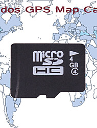 KUDOS América do Norte Mapa (TF-4G)