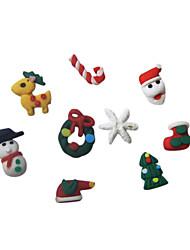 20pcs Christmas Series 3D Nail Decoration