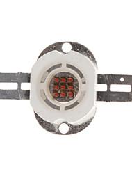 DIY 10W 300-400LM Yellow Light 583-586NM Round Integrierte LED Emitter
