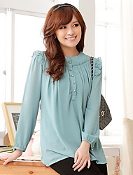 Women's Chiffon Loose Blouse Shirt
