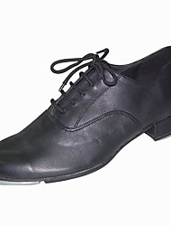 Leather Upper Ballroom Tap Dance Shoes for Women/Men Tap Included