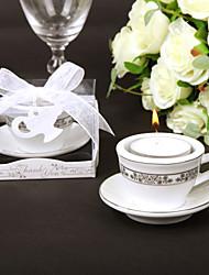Свеча, в форме чашечки кофе