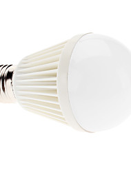 E27 7W 700-750LM 6000-6500K Natural White Light LED Ball Bulb (110-240V)