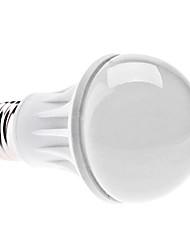 E27 7W 560-590LM 3000-3500K Warm White Light Ceramic LED Ball Bulb (85-265V)