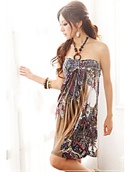 tendance robe de plage licol