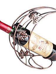 Kreative Iron Art Moon Design Wine Rack Flaschenhalter