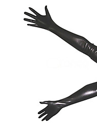 Gloves Ninja Zentai Cosplay Costumes Black Solid Gloves Spandex Unisex Halloween / Christmas