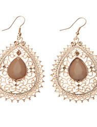 Drop Earrings Women's Cubic Zirconia/Alloy Earring Cubic Zirconia