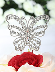 Cake Toppers Beautiful Rhinestone Butterfly Cake Topper