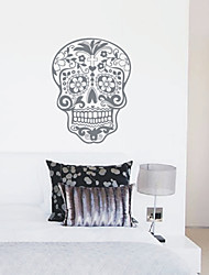 Rimovibili Skull Nature Wall Stickers